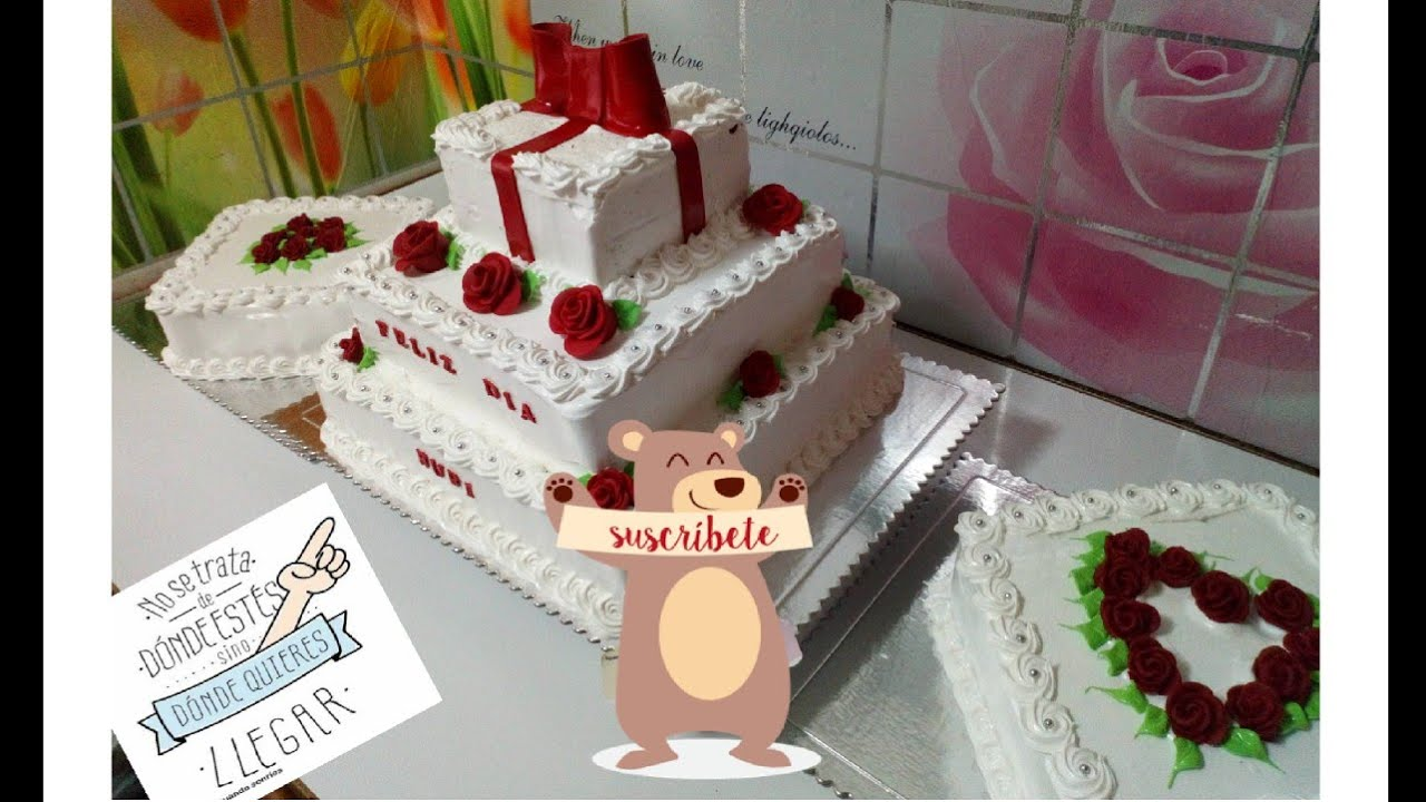 Cmo decorar pastel de 3 pisos sper fcil Lucys Cakes YouTube