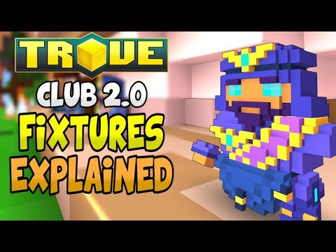 TROVE CLUB FIXTURES EXPLAINED! | Club Buffs & Clubit Price