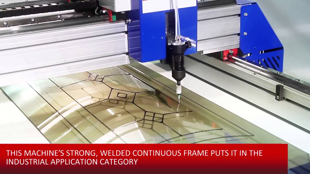 Machines For Making Decorative Glass Cutting Any Glass