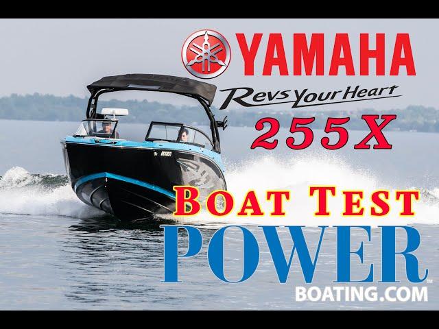YAMAHA 255X JET BOAT (BOAT REVIEW)