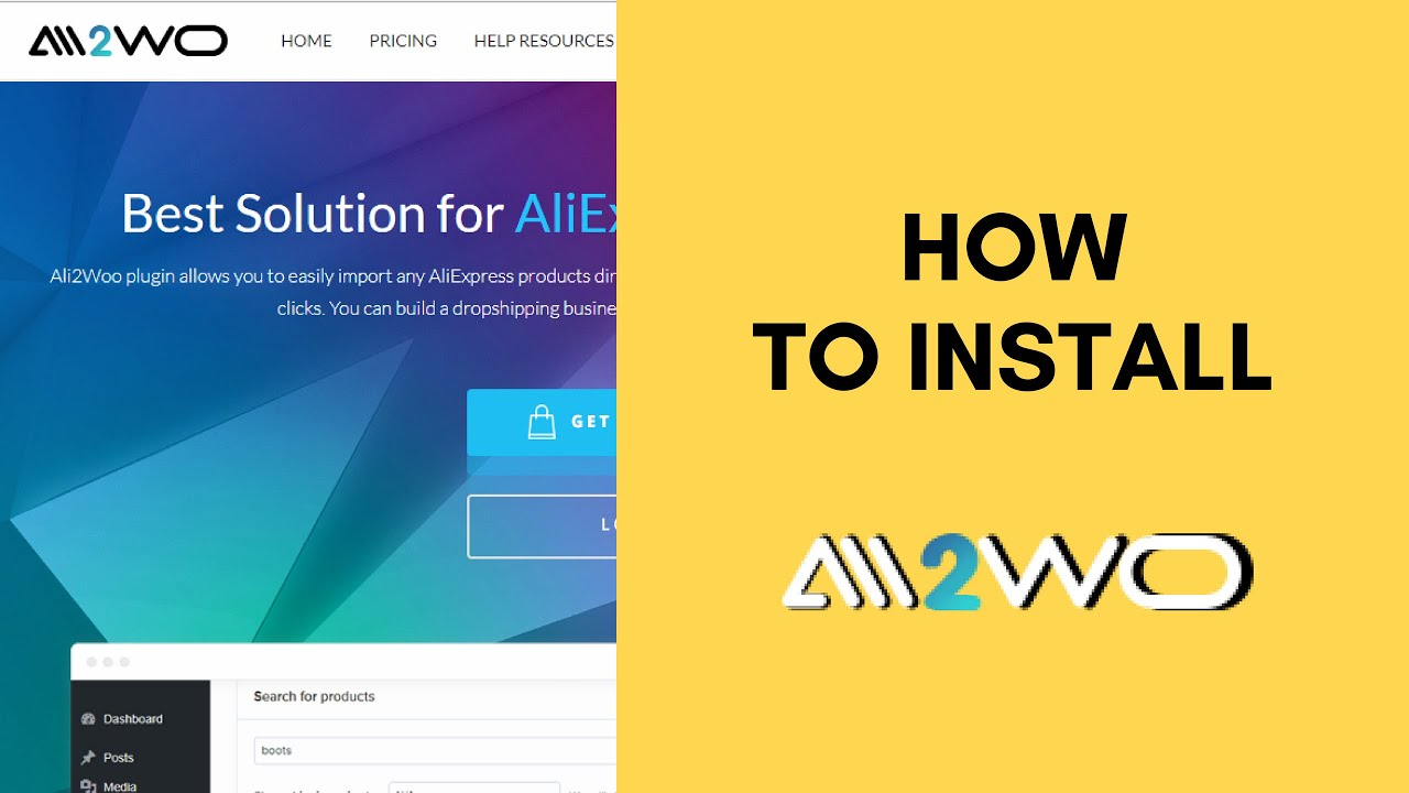AliExpress Dropshipping business plugin (Ali2Woo) - How to install Ali2Woo plugin?