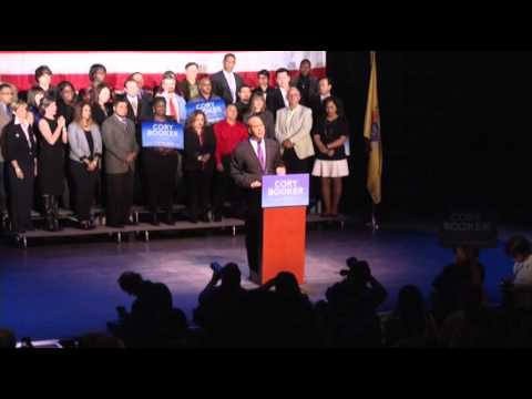 Newark Mayor Booker Wins Senate Seat From NJ