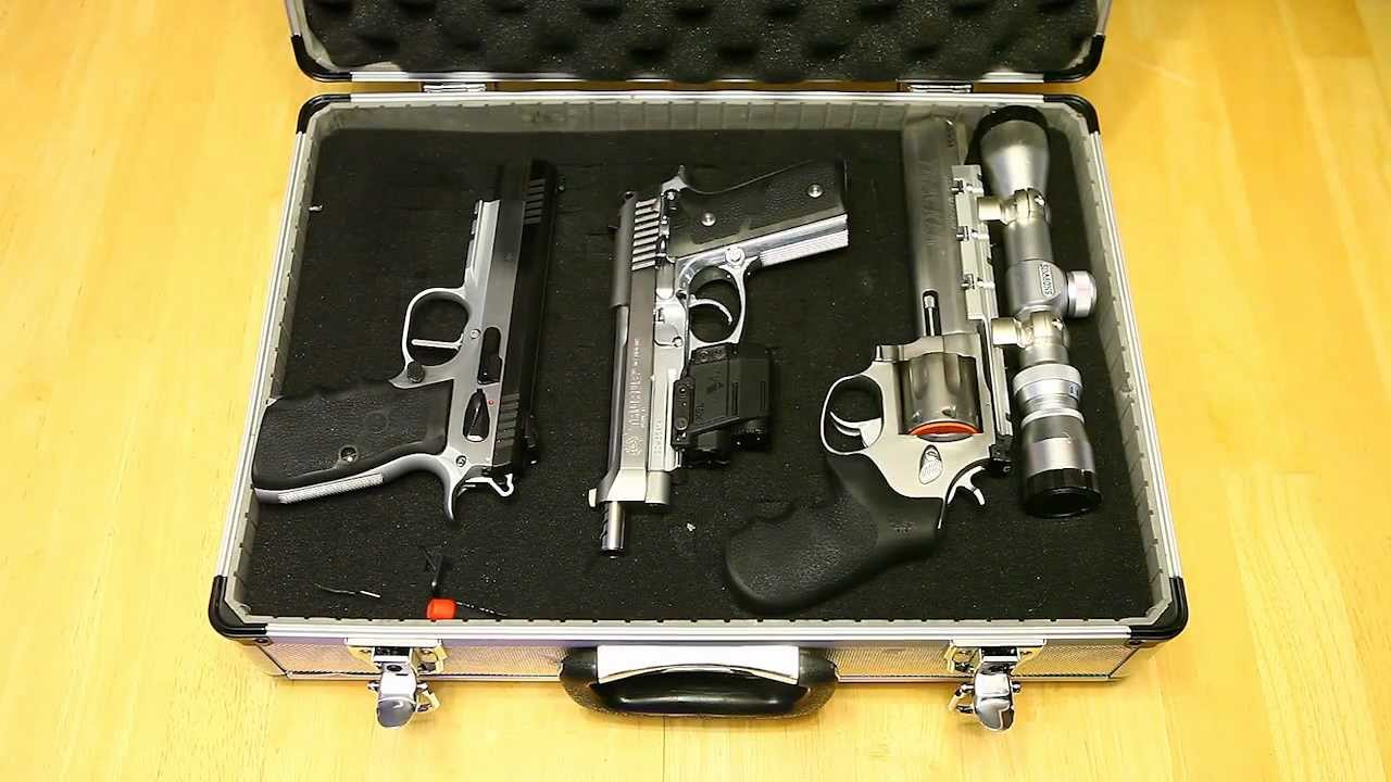 My secret cheap gun hard cases youtube for My secret case srl