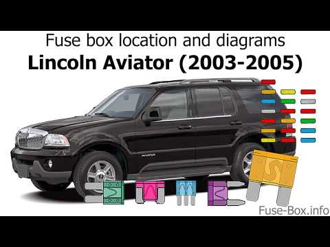 Fuse Box Location And Diagrams Lincoln Aviator Un152 2003 2005