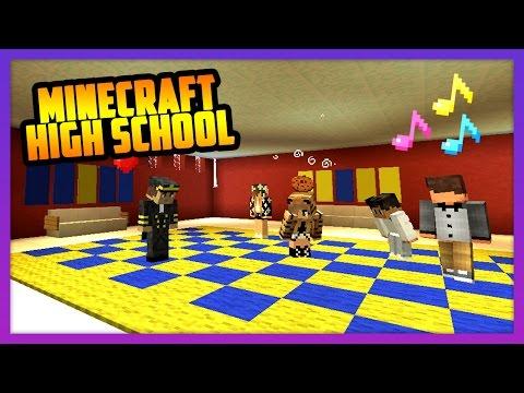 FIRST SCHOOL DANCE! - Minecraft High School