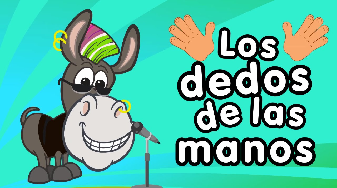 Worksheet. Los dedos de la mano  Cancin para nios  Songs for Kids in