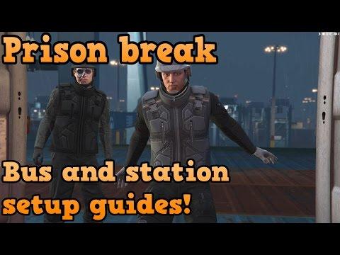 GTA Online Heist Guides - Prison Break - Bus And Station Setup Missions