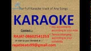 Piya Piya Piya Mora Jiya   Kishore,Lata Karaoke Track