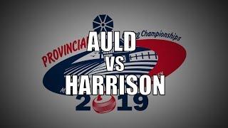 2019 ONT STOH - Auld vs Harrison