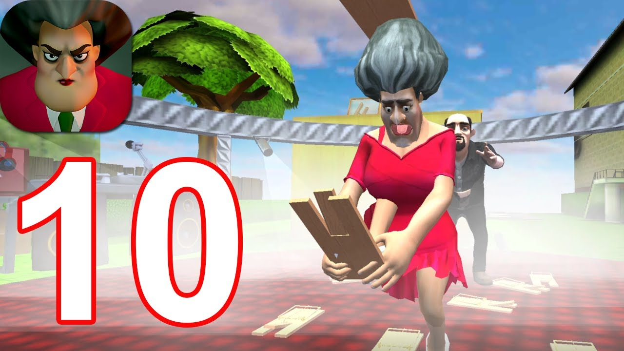 Download Scary Teacher 3D - Gameplay Walkthrough Part 10 (Android,iOS)