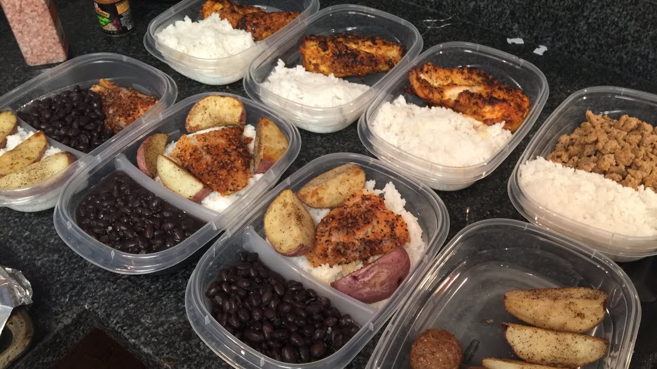 Meal Prep As A College Student Bulk Shred Youtube