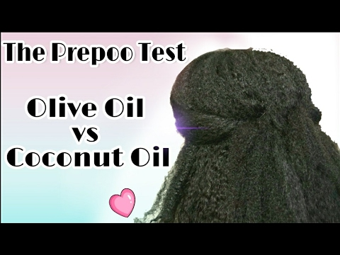 Natural Hair Wash Day Routine | Prepoo with Olive Oil vs Coconut Oil | Which is best?