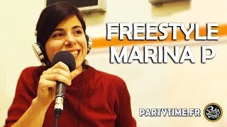 "MARINA P - Freestyle ""MY HOMEYS"" at PartyTime Radio Show - 8 DEC 2013"