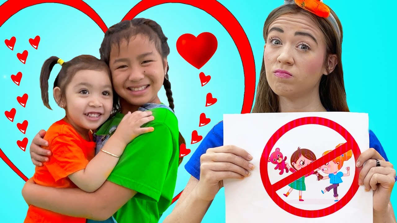 Download Jannie and Maddie Learn Rules for Kids | Kids Learn Sharing is Caring and More Rules