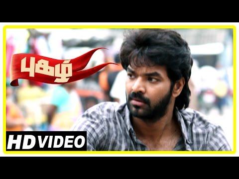 Pugazh Tamil Movie | Scenes | Marimuthu Tries to sell Public Ground | Jai | Vikram