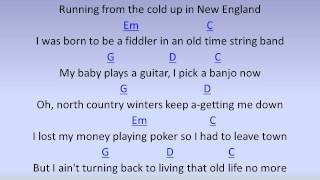 Darius Rucker-Wagon Wheel By Chord Karaoke