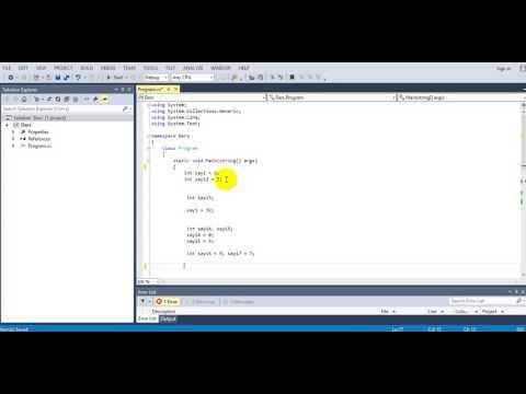 C# Console Aritmatik Operatörler Matematiksel İşlemler