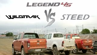 Offroad Bakkie Drag Race: Toyota Hilux vs Ford Ranger vs GWM Steed6