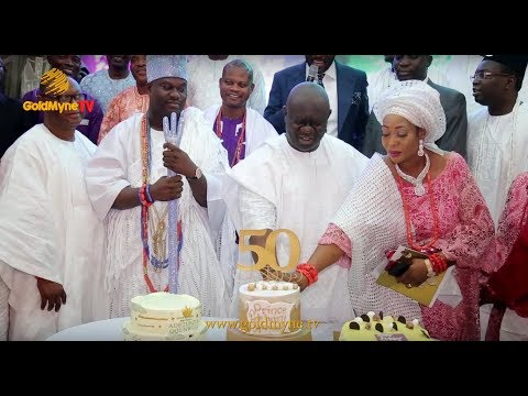 Download OONI OF IFE'S BROTHER, PRINCE ADETUNJI OGUNWUSI CELEBRATES 50TH BIRTHDAY IN GRAND STYLE