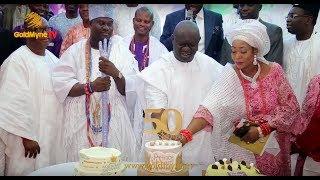OONI OF IFES BROTHER PRINCE ADETUNJI OGUNWUSI CELEBRATES 50TH BIRTHDAY IN GRAND STYLE