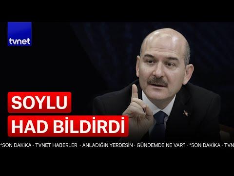 İçişleri Bakanı Süleyman Soylu  \