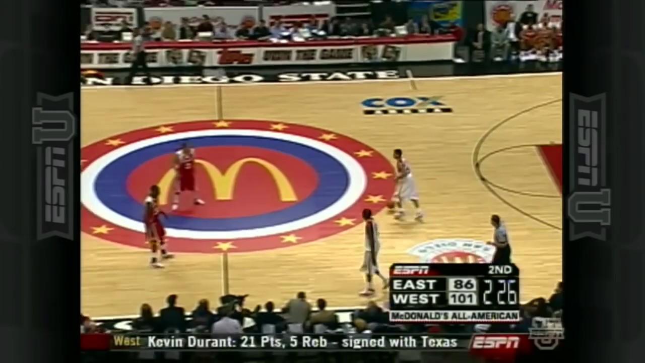 03a9cd99968f 2006 McDonald s All American High School Game - YouTube