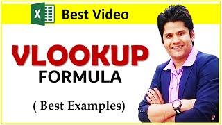 vlookup in excel with example in Hindi