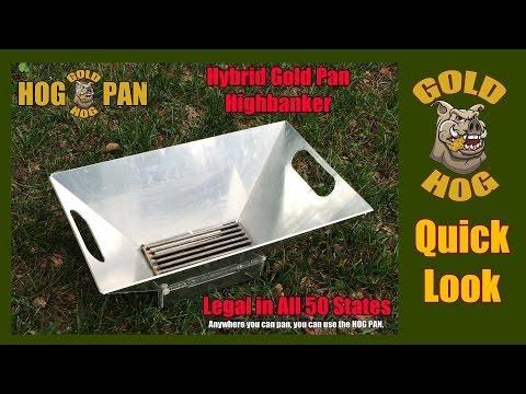 New Hog Pan - Gold Pan - Quick Look