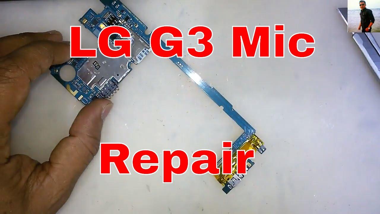 LG G3 (D855) MIC Repair Solution