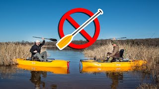 NO PADDLE! Kayak Bass Fishing Challenge