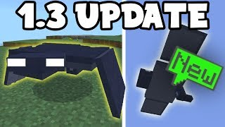 NEW MCPE 1.3 Update FLYING MOB in Minecraft PE (Pocket Edition)
