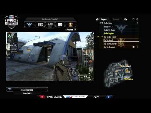 CODBO2世界トップクラスクラン戦OpTic Gaming vs Faze (1/4)