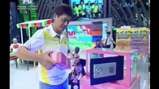 Ryzza Mae Dizon's Gift from Bossing on Eat Bulaga - April 1, 2013