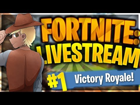 Fortnite Battle Royale LIVE // 20 Wins! // #13