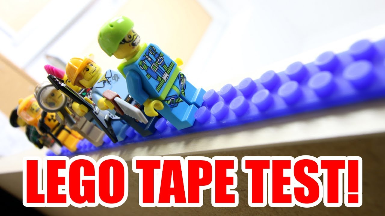 LEGO-compatible sticky tape: In-depth test & review - YouTube