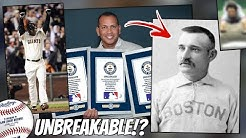 Baseball's Most UNBREAKABLE Records (MLB)