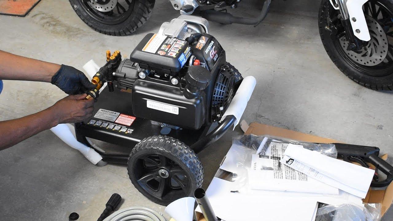 Simpson MSH3125-S Review   Powerful Honda GCV190 Engine