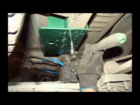 Установка пневмоподвески Ford Transit