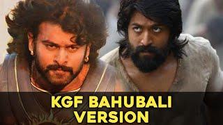 KGF DHEERA SONG BAHUBALI VERSION | BAHUBALI| KGF