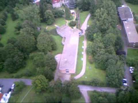 Luftaufnahmen bei Bad Münder Bereich Rehakliniken - YouTube