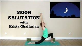 Moon Salutation Flow Yoga Practice