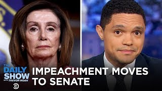Nancy Pelosi's Impeachment Procession & Lev Parnas's Paper Trail | The Daily Show