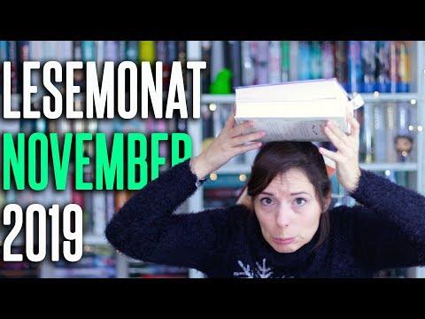 LESEMONAT November 2019 | 6 zuletzt gelesene Bücher im Monatsrückblick | melodyofbooks