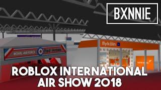 Espectáculo Aéreo Internacional Roblox 2018 Booths & Planes