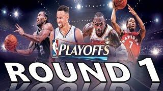 "NBA - 2017 Playoffs Round 1 Mix - ""Undefeated"" ᴴᴰ"