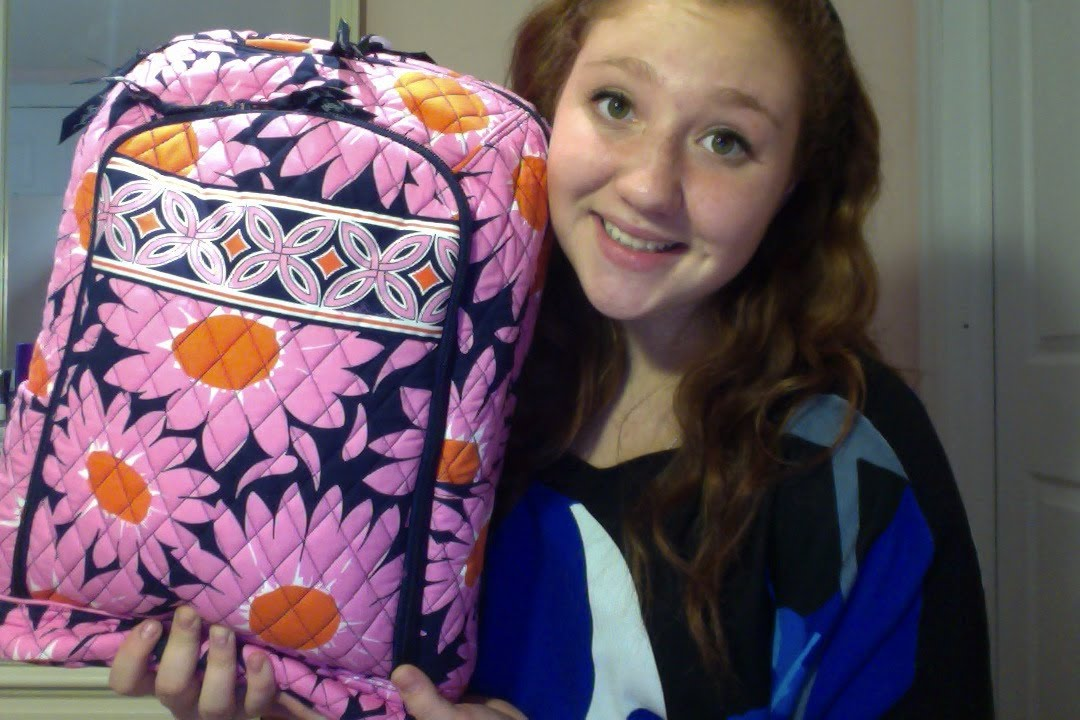 4bead5046d2c Vera Bradley Laptop Backpack Review - YouTube