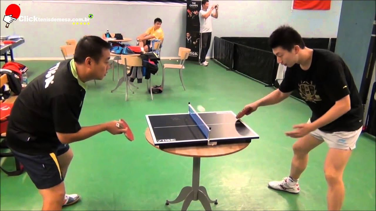 Ma Long Vs Liu Guoliang Na Mini Mini Mesa De T 234 Nis De