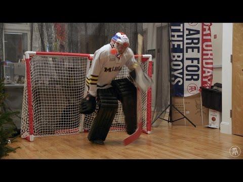 Barstool Goalie Challenge Featuring Chicago Blackhawks Scott Darling