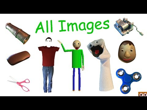 All Sprites | Gamesfiles Decompiled (v1.3) | Baldi's Basics in Education and Learning