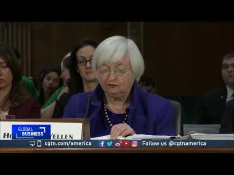 Fed chief challenges Trump on U.S. economy